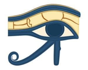 glande pineal et oeil d Horus
